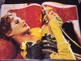 Vogue Italia magazine April 1994 BEVERLY PEELE Linda Evangelista NINA BROSH Moss
