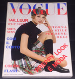 VOGUE Italia Magazine March 1994 BRIDGET HALL Farrah Fawcett LINDA EVANGELISTA