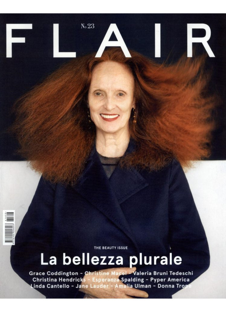 FLAIR Magazine #23 GRACE CODDINGTON Christina Hendricks JULIA HAFSTROM