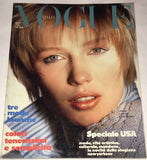 Vogue Italia Magazine April 1985 CECILIA CHANCELLOR Bonnie Berman PAOLO ROVERSI