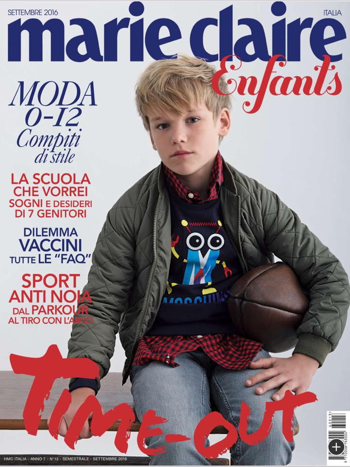 MARIE CLAIRE Enfants Junior Children KIDS Ninos BAMBINI Fashion Magazine Fall/Winter 2016