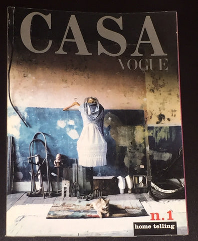 CASA VOGUE 1999 magazine #1 Tim Walker MICHEL COMTE Lee Jenkins MAX VADUKUL