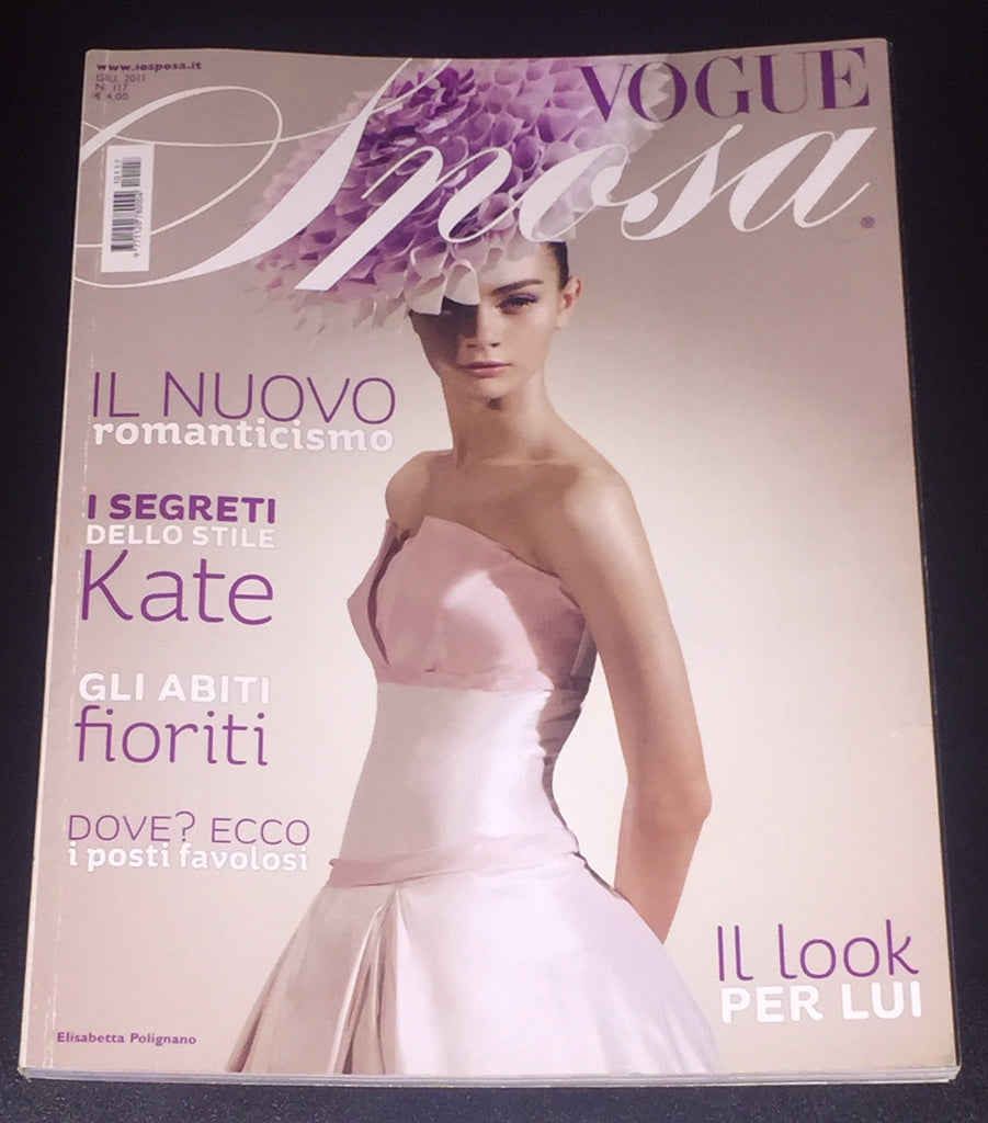 VOGUE Italia Magazine SPOSA Wedding BRIDE June 2011 Rare Magazine