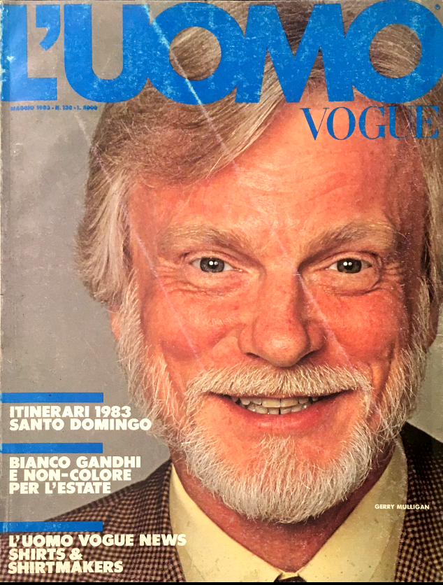 L'UOMO VOGUE Magazine May 1983 GERRY MULLIGAN Keith Richards #130