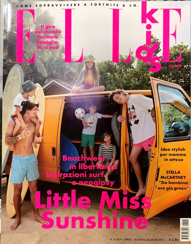 ELLE Kids BAMBINI Junior Children Enfant Ninos Fashion Magazine Spring 2019 BEACHWEAR