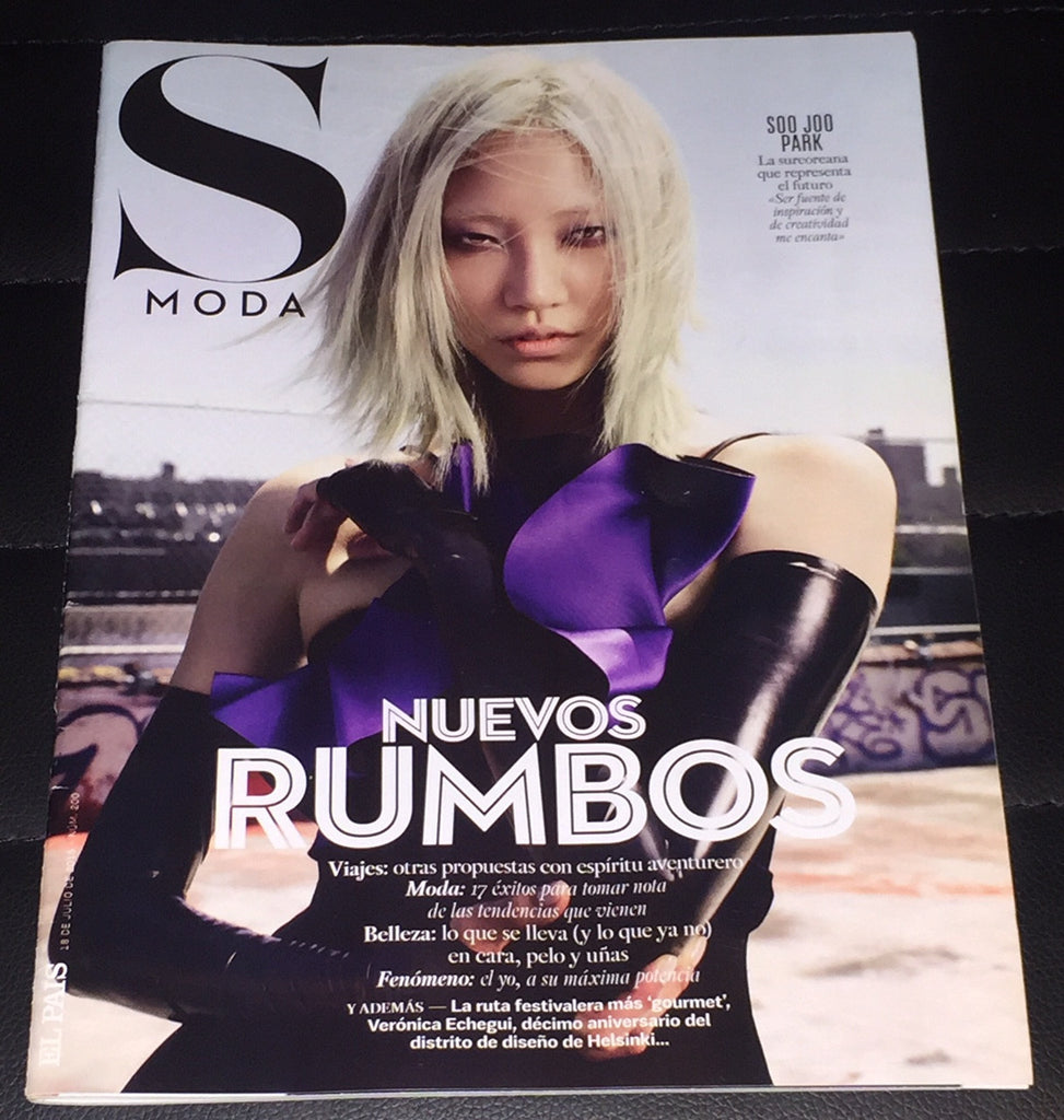 SOO JOO PARK Iris Apfel SEMANA S Moda One Day Magazine July 2015