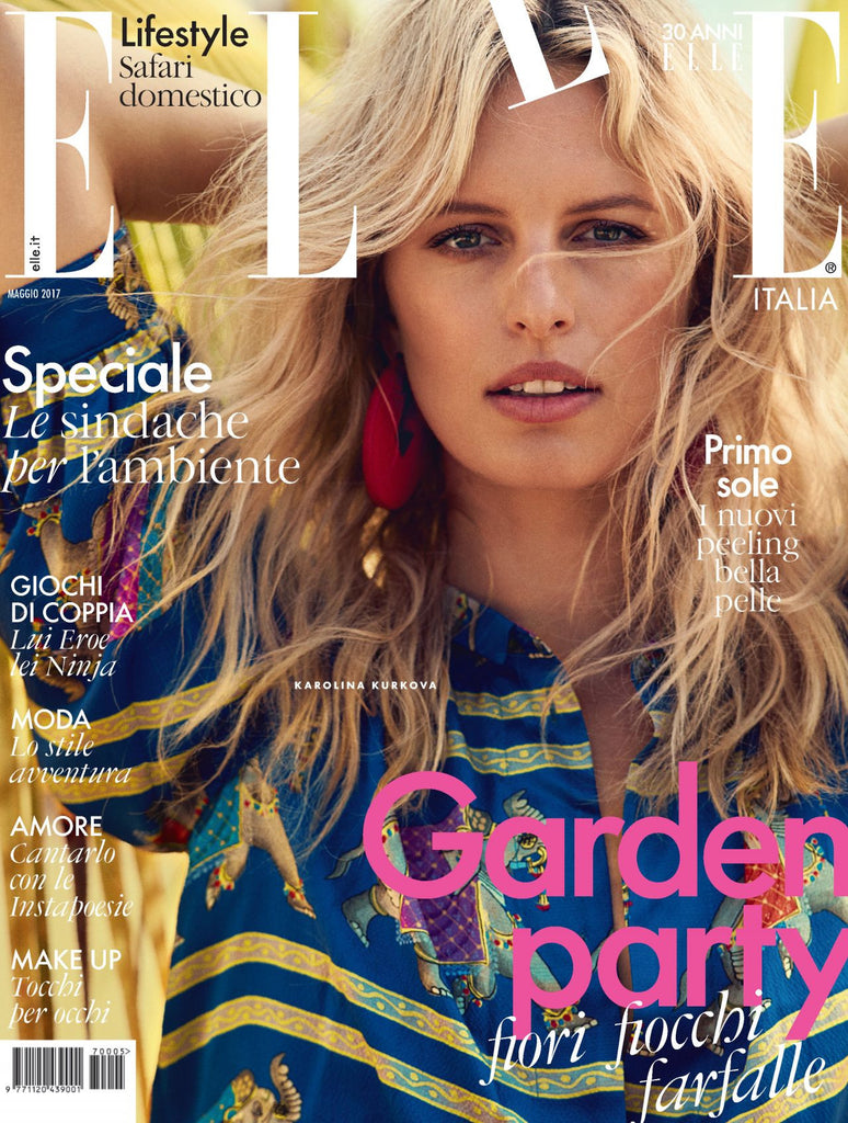 ELLE Italia Magazine May 2017 KAROLINA KURKOVA Anne V JENNIFER CONNELLY