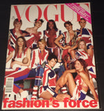 VOGUE UK Magazine January 2002 GISELE BUNDCHEN Corinne Day KAROLINA KURKOVA