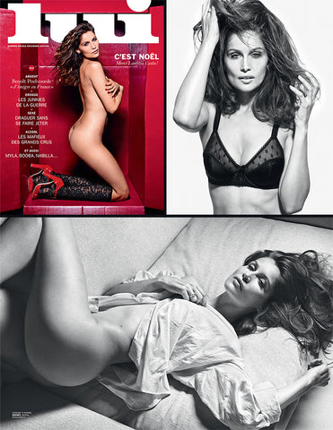 LUI Magazine 13 December 2014 LAETITIA CASTA Kristine Zandmane MYLA DALBESIO English Text