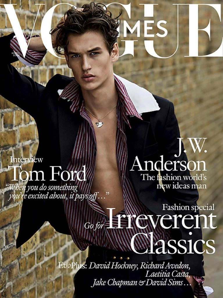 VOGUE HOMMES Magazine F/W 2016 JEGOR VENNED Anwar Hadid TERRY RICHARDSON English text