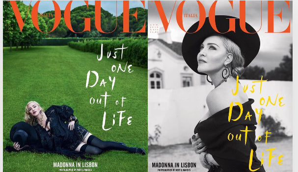2 x VOGUE Italia August 2018 MADONNA by Mert & Marcus BRAND NEW Magazine BUNDLE