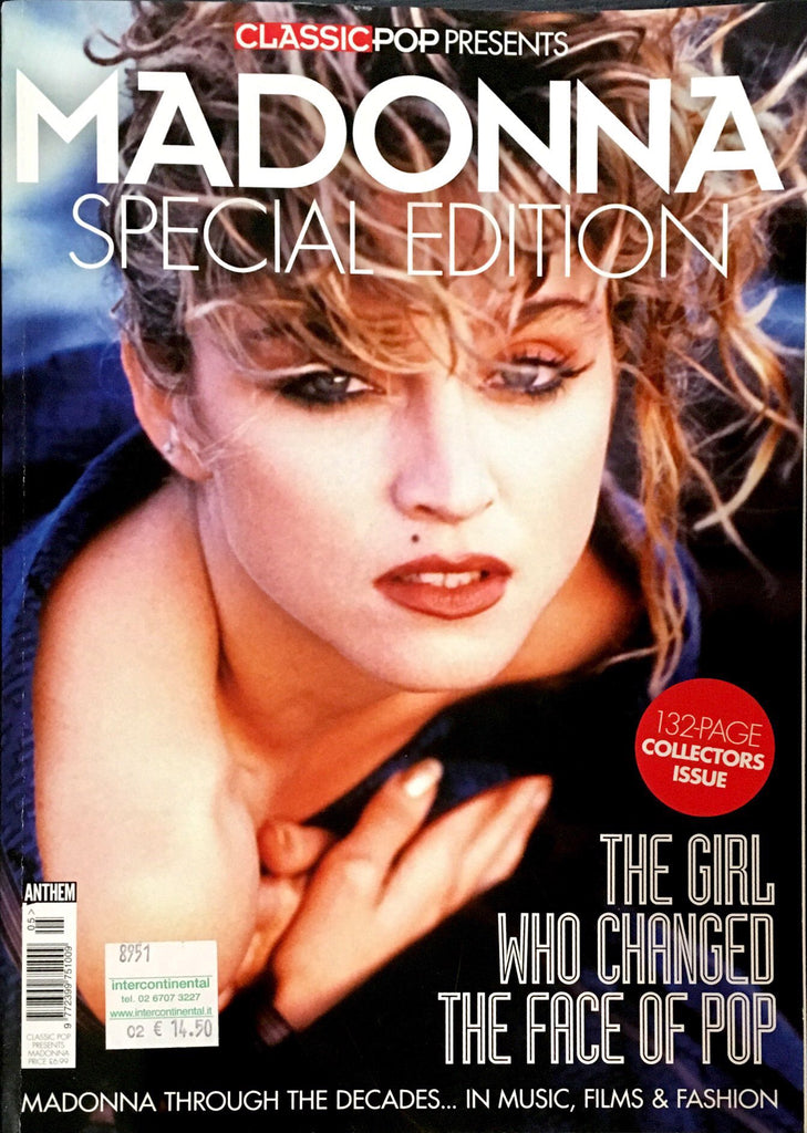 MADONNA Classic Pop Magazine 2017 SPECIAL EDITION 132 Pages