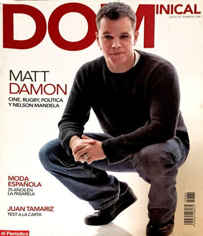 DOMINICAL Magazine January 2010 MATT DAMON Charlotte Gainsbourg OUKA LEELE