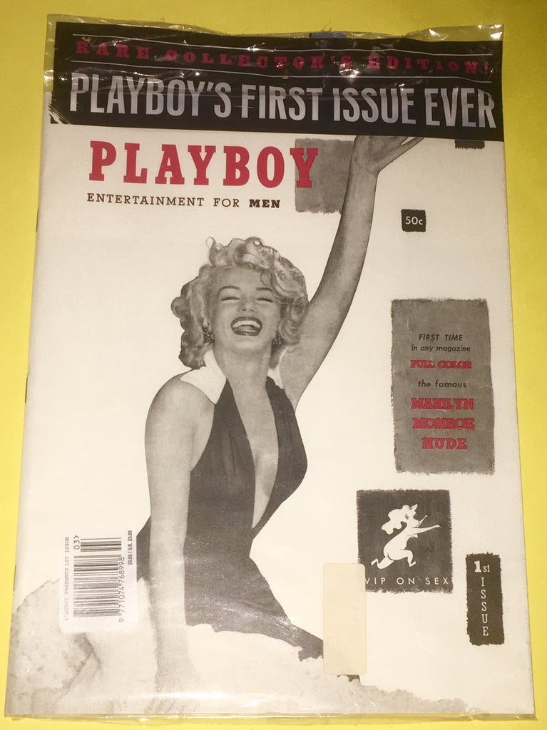 MARILYN MONROE PLAYBOY Magazine Us December 1953 Official Reprint Magazine Sealed Mint