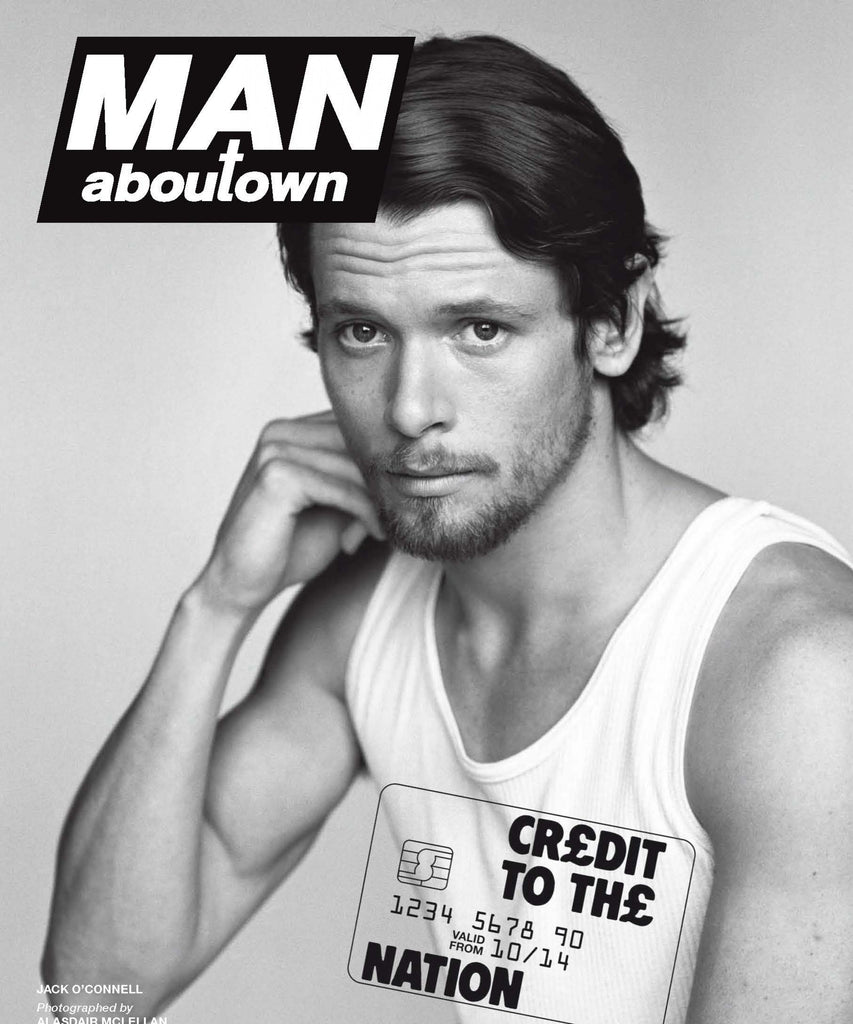 MAN ABOUT TOWN Magazine 2014 JACK O'CONNELL Emilio Vitolo LARA STONE Poster