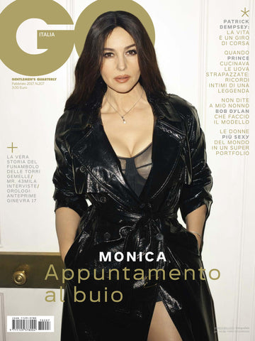 GQ Italia Magazine February 2017 MONICA BELLUCCI Patrick Dempsey PRINCE Terry Richardson