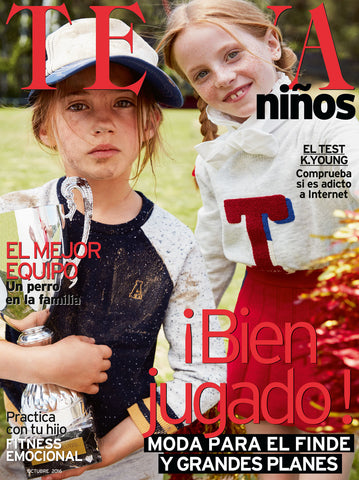 TELVA NINOS October 2016 Kids Children Bambini Enfant SPANISH Fashion Magazine