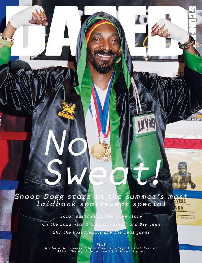 DAZED & CONFUSED magazine August 2012 SNOOP DOGG Pusha 2 CHAINZ T Big Sean