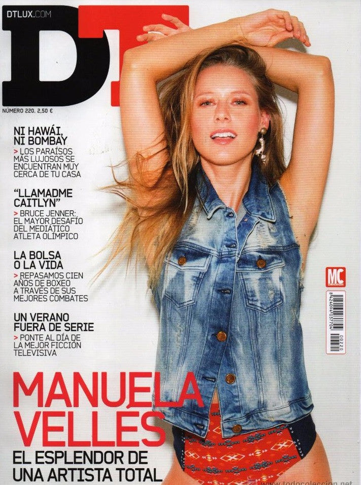 DT Spain Magazine July 2015 MANUELA VELLES Ryan Reynolds CAITLYN JENNER Mar Saura