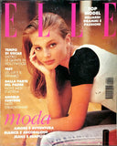 ELLE Italia Magazine April 1994 BRIDGET HALL Gail Elliott ROBERTA CHIRKO Ines Sastre