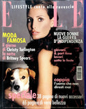 ELLE Italia December 2000 ELSA BENITEZ Christy Turlington ISABELI FONTANA Anna Mouglalis SPEARS