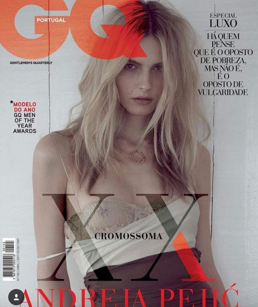 GQ Portugal Magazine April 2017 ANDREJA PEJIC Marco Martins KENTON THATCHER