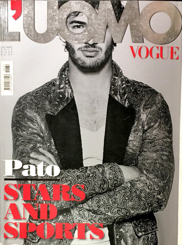 L'UOMO VOGUE Magazine June 2012 PATO Mark Ruffalo KATY PERRY Kim Kardashian