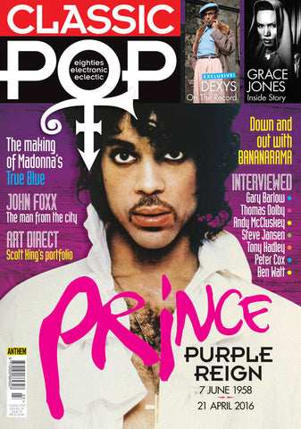 CLASSIC POP Magazine June 2016 PRINCE Grace Jones MADONNA Bananarama BEN WATT