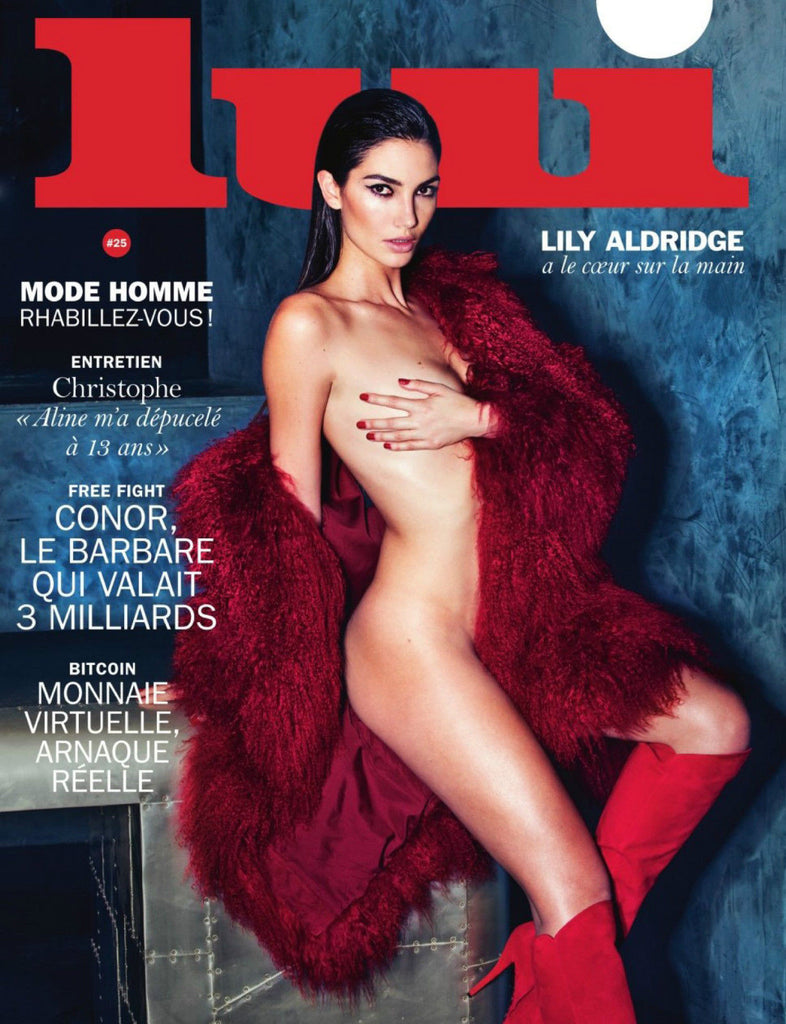 LUI Magazine 25 March 2016 LILY ALDRIDGE Nadja Bender CLEMENT CHABERNAUD