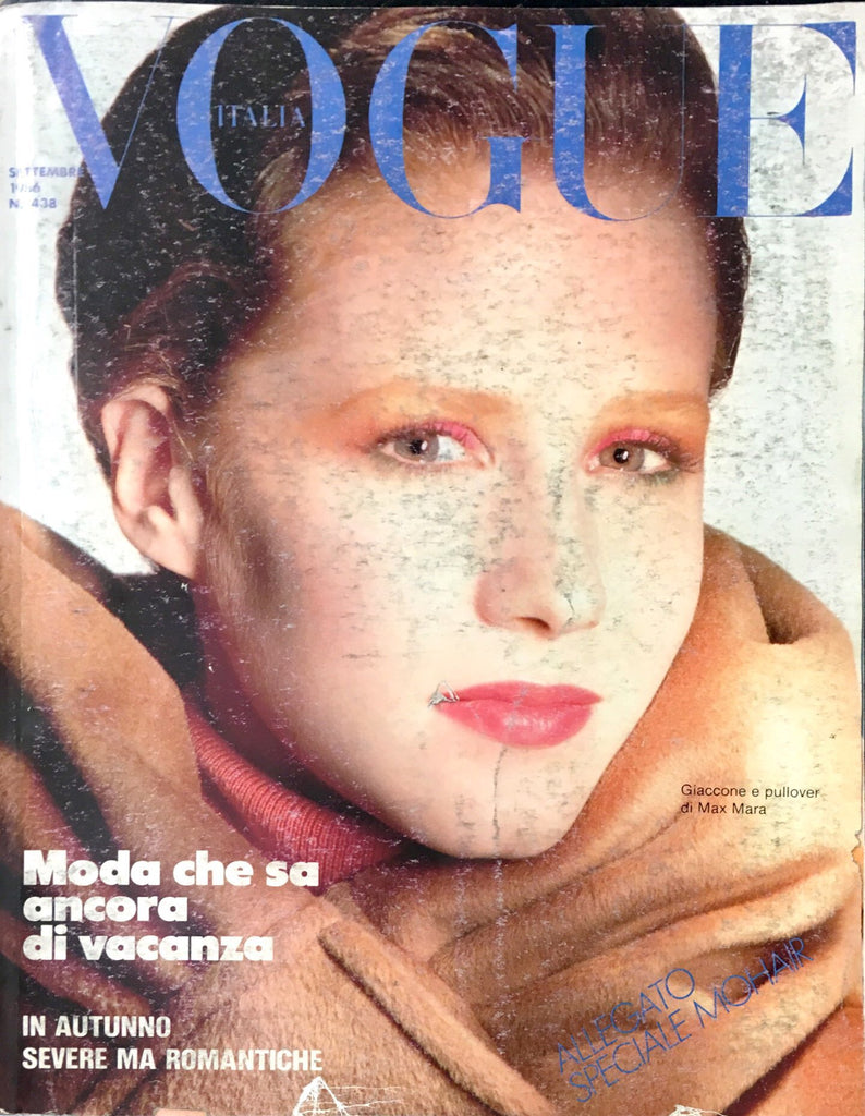 VOGUE Italia Magazine September 1986 ALISON COHN Fur Leather editorials Speciale #15