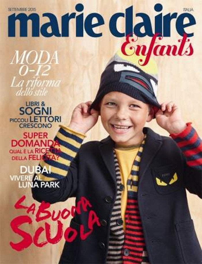 MARIE CLAIRE Italia September 2015 Kids BAMBINI Children Enfants Fashion Magazine