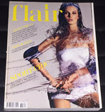 FLAIR Magazine March 2003 ANGELA LINDVALL Jessica Miller RIE RASMUSSEN