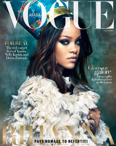 VOGUE ARABIA Magazine November 2017 RIHANNA by Greg Kadel KIRSTIN LILJEGREN