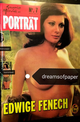 EDWIGE FENECH Photobook Magazine - 83 glossy pages completely dedicated to her