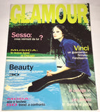 GLAMOUR Italy Magazine August 1994 NINA BROSH Laetitia Casta KATE MOSS