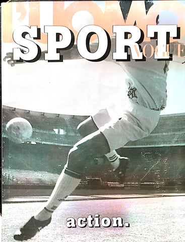 L'UOMO VOGUE Sport Magazine 2002 DAVID GANDY George Best BERNARDO CORRADI