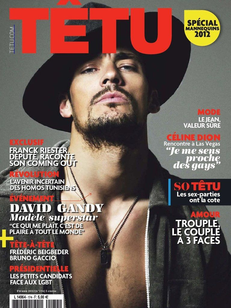 TETU Magazine February 2012 DAVID GANDY Special Male Models TOM BARKER
