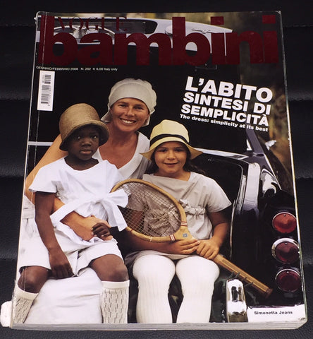 VOGUE BAMBINI Kids Children Enfant Fashion ITALIA Magazine January 2008