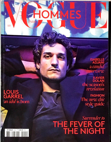 VOGUE HOMMES Magazine #20 Fall/Winter 2015 LOUIS GARREL Xavier Dolan