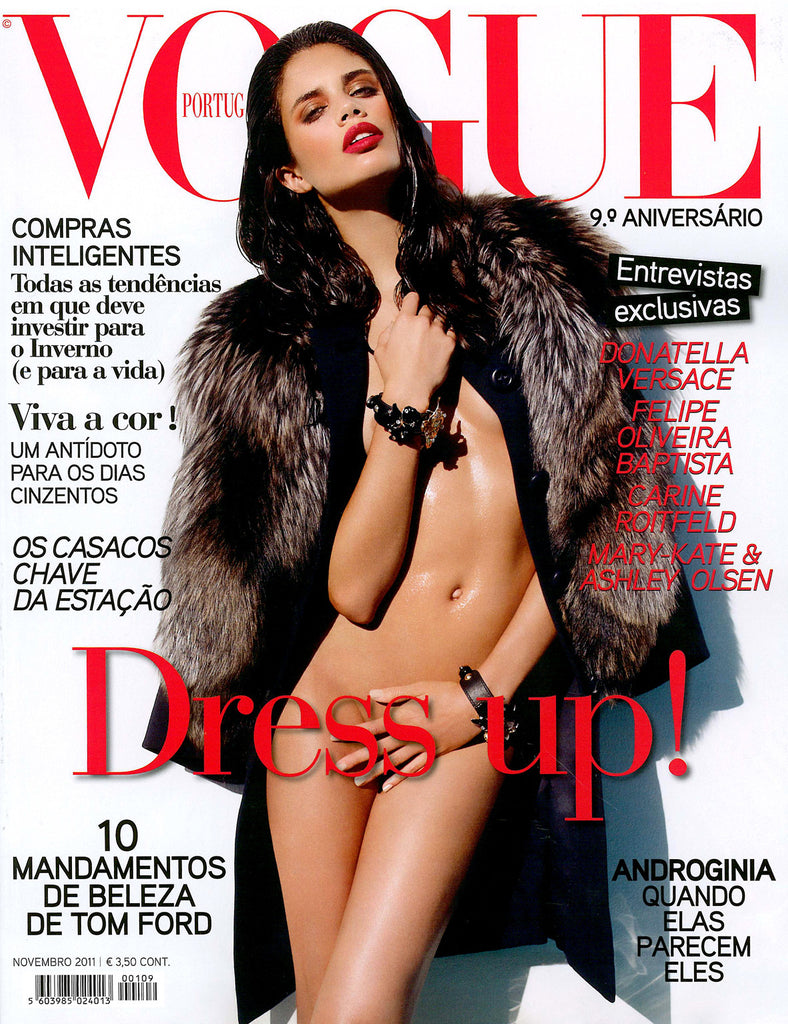 VOGUE Portugal Magazine ANNIVERSARY November 2011 SARA SAMPAIO Jani Gabriel