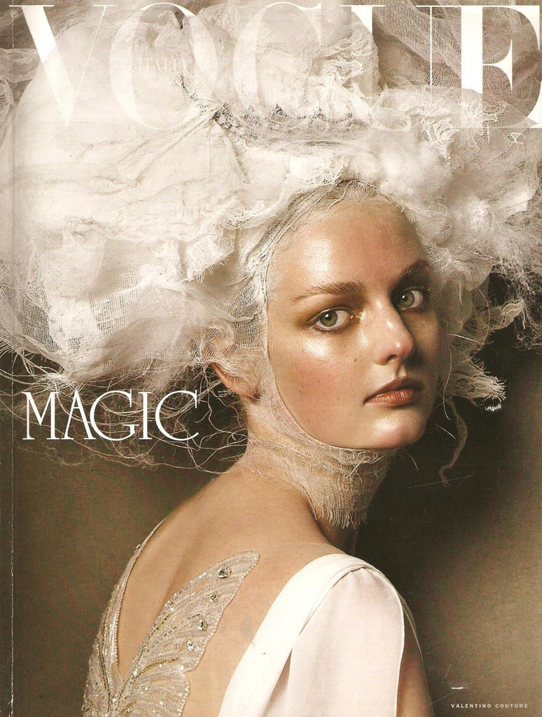VOGUE Italia UNIQUE Magazine March 2005 LYDIA HEARST Vlada Roslyakova RUSLANA KORSHUNOVA