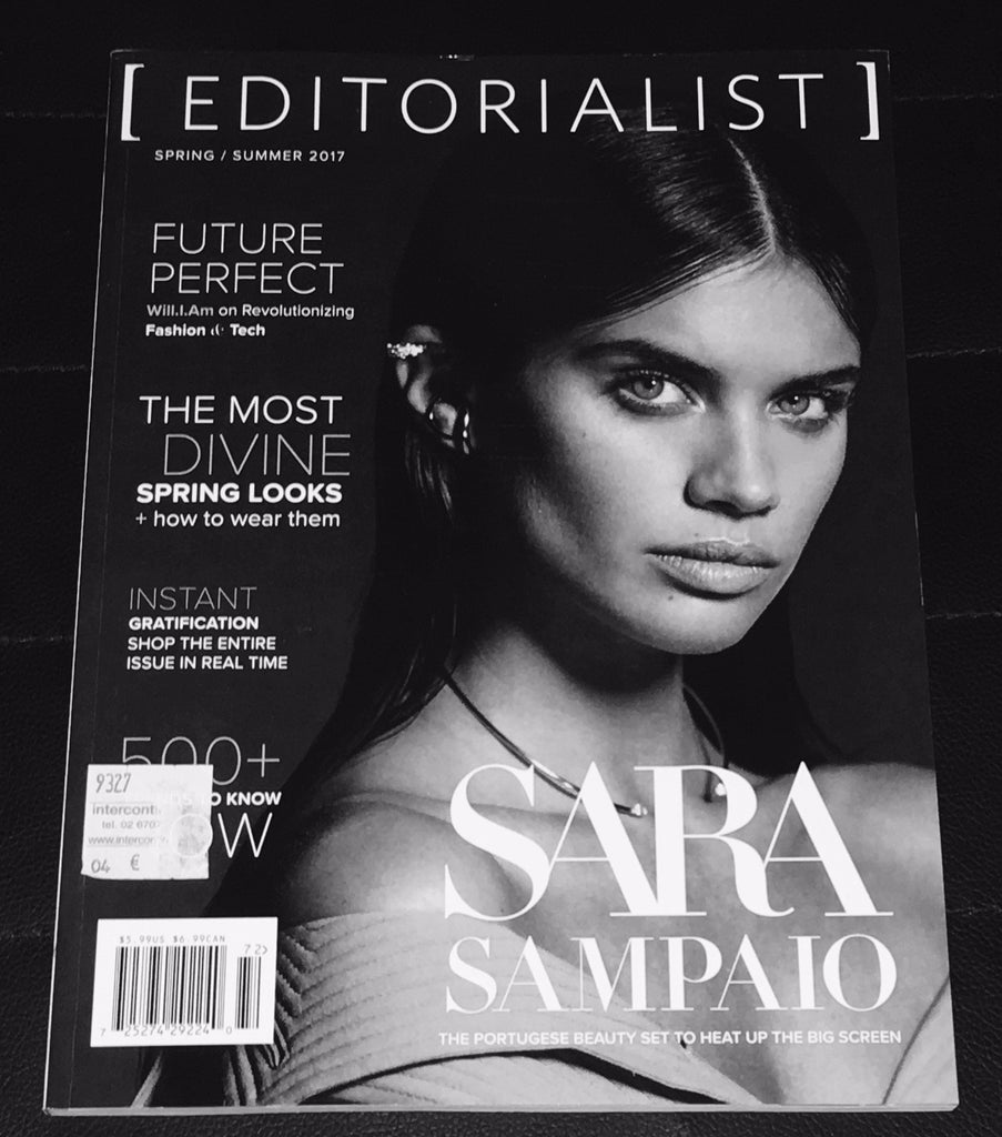 EDITORIALIST Magazine Spring 2017 SARA SAMPAIO Hollie May Saker ELSA HOSK