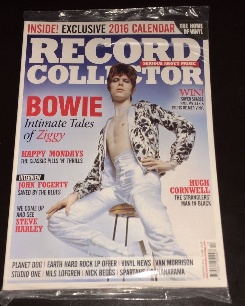 Record Collector UK Magazine 2015 DAVID BOWIE as ZIGGY John Fogerty STEVE HARLEY