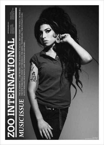 ZOO Magazine 2007 AMY WINEHOUSE Bryan Ferry THE KILLS Music Issue Newspaper Edition