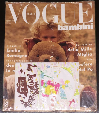 Vintage VOGUE BAMBINI Kids Children Enfant Fashion ITALIA Magazine October 1989 NEW