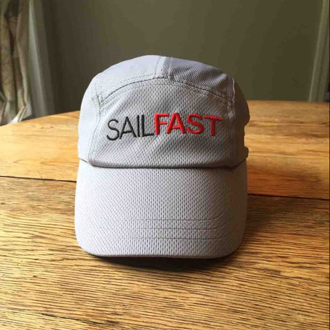 SailFast Apparel Accessories Men's Sailing Hat Coolmax Grey