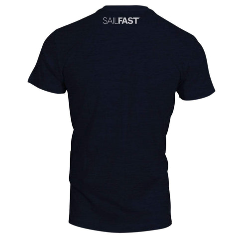 SailFast Apparel, LLC Bamboo Shirt 'Atlantic' - Bamboo/Cotton - Charcoal Blue
