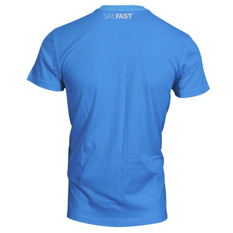 SailFast Apparel, LLC Bamboo Shirt 'Atlantic' - Bamboo/Cotton - Sea Blue