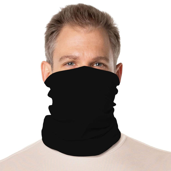 SailFast Apparel, LLC Buff Carbon / Regular 'Solid Color UPF50' - Neck Gaiter - (2-Sizes) (5-Colors)