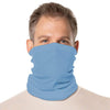 SailFast Apparel, LLC Buff Columbia Blue / Regular 'Solid Color UPF50' - Neck Gaiter - (2-Sizes) (5-Colors)